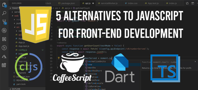 JavaScript front end development