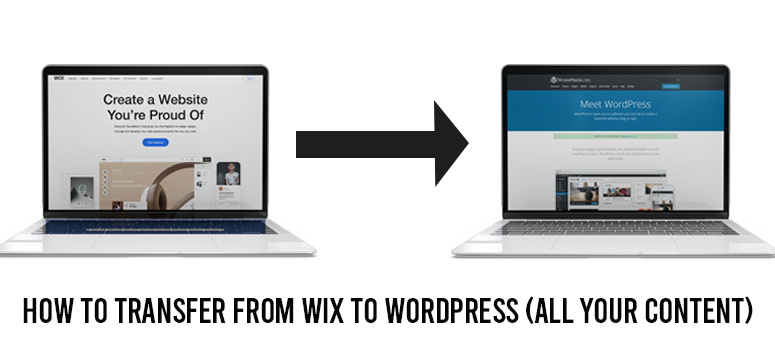 How to Transfer From Wix to WordPress