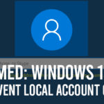 New Windows 10 Setup Prevents Local Account: Set up Windows 10 Without Microsoft Account