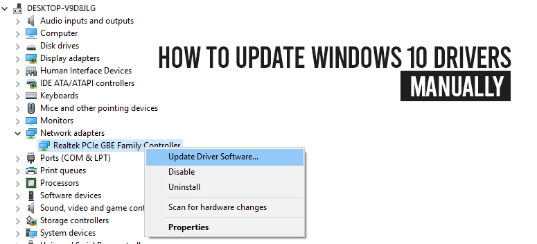 Update Windows 10 Drivers