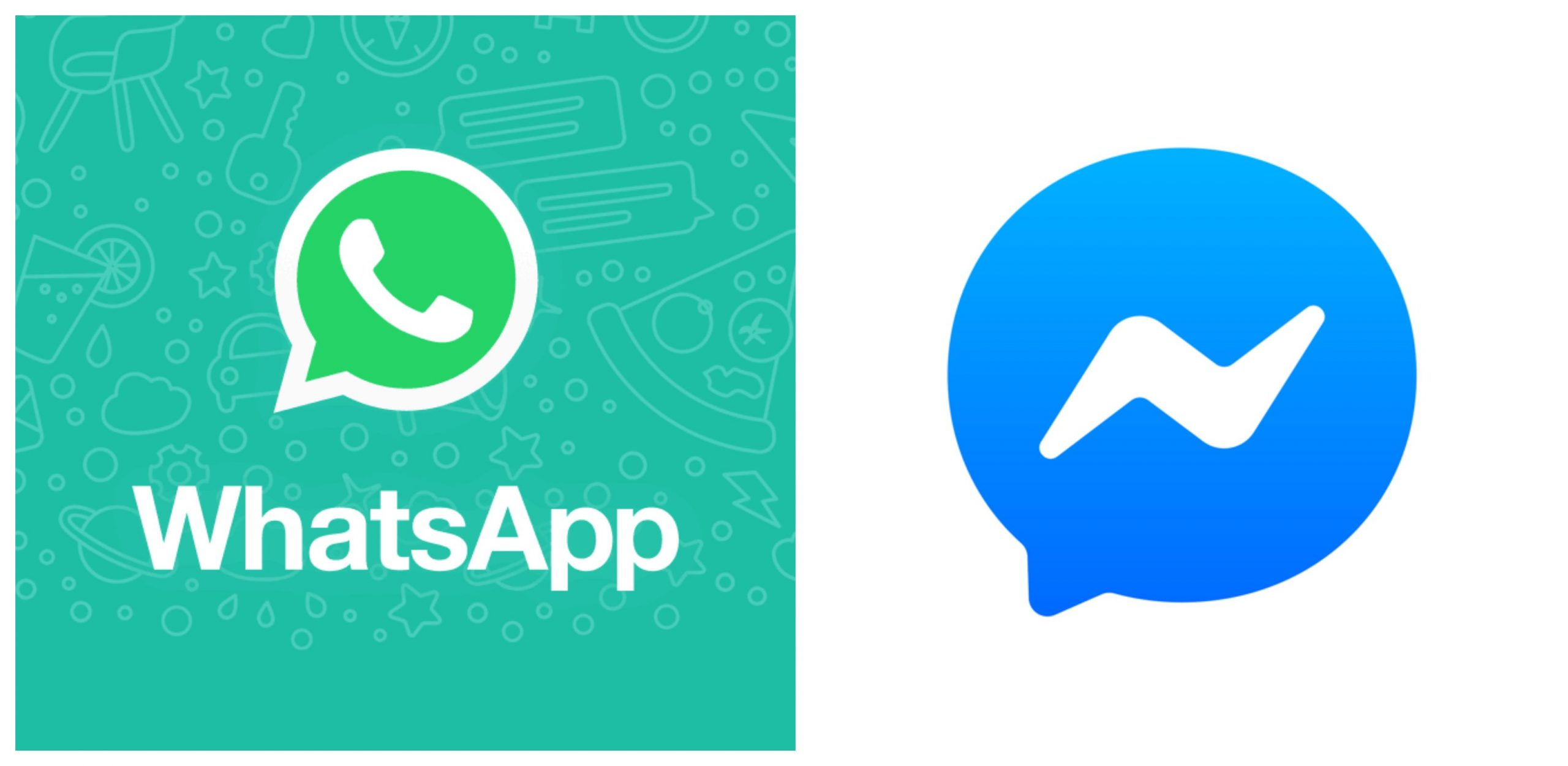whatsapp and messenger